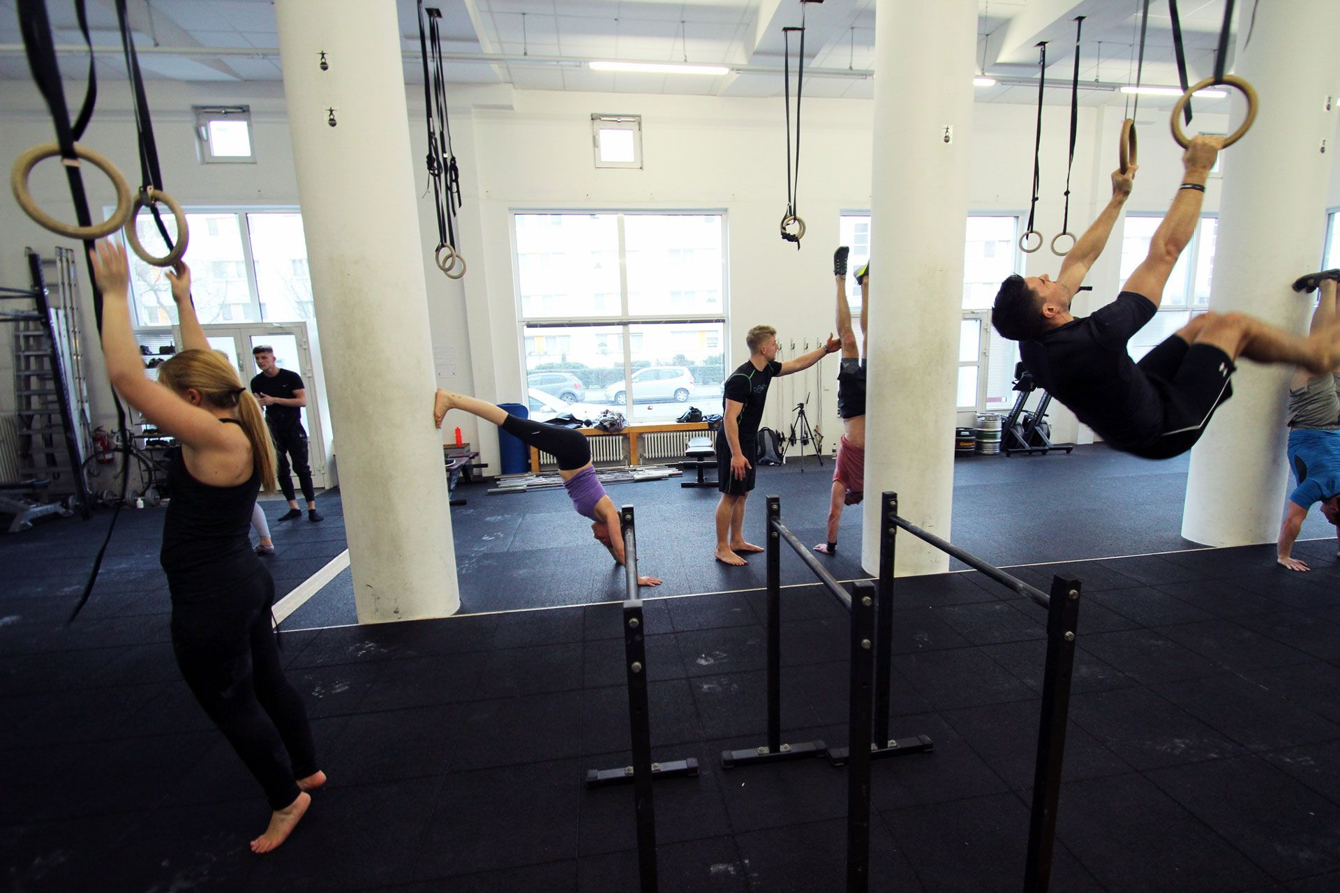 HOC Calisthenics Workshops, Pull-Ups, Push-Ups, Handstand