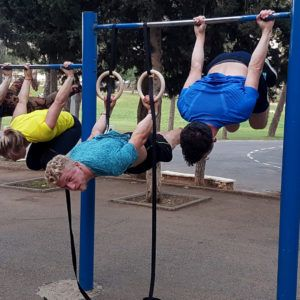 Calisthenics workout Jerusalem